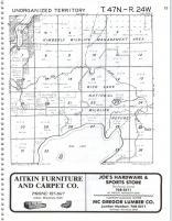 Unorganized Territory T47N-R24W, Aitkin County 1979